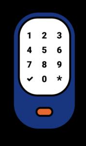 Commercial Keypad Lock